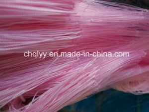 210d Nylon Pink Fishing Net pictures & photos