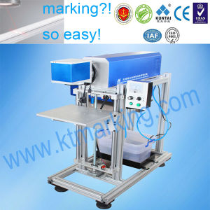 12W CO2 Laser Engraving Marking Machine on Wood Stick pictures & photos