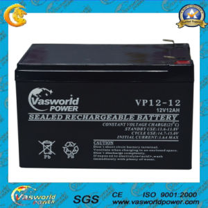 12V AGM Lead Acid Battery 12V12ah Small Rechargeable Battery pictures & photos