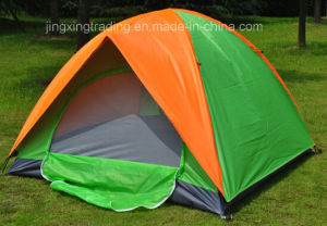 2-4 Persons Double-Skin Polyester Camping Tent (JX-CT020-2) pictures & photos