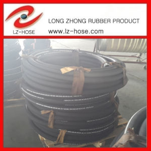 "SAE 100r2at 3 1/2"" High Pressure Oil Rubber Hose"
