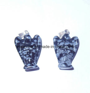 Fashion Natural Gemstone Angel Carving Figure Statue pictures & photos