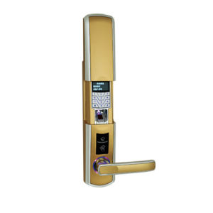 Card Key Finger Safe Lock Mechanism