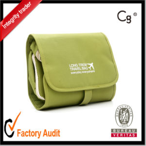 Folding Travel Makeup Bags Toiletry Bag with Handle pictures & photos