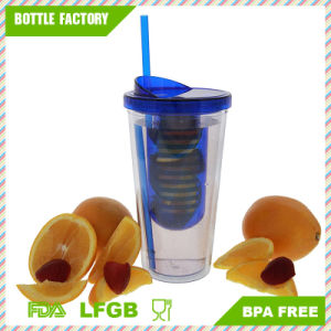 Hot Sale BPA Free Tumbler with Straw and Infuser 22oz pictures & photos