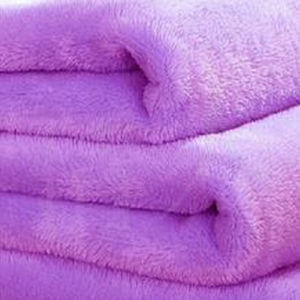 Polyester Printed or Plain Dyed Coral Fleece Blanket pictures & photos