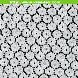 New Nylon Cotton Lace Fabric for Lace Dress Garment