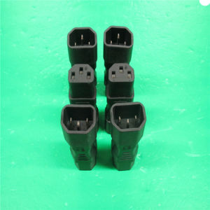 1.2m Black IEC 320 C14 Power Cord with Screw pictures & photos