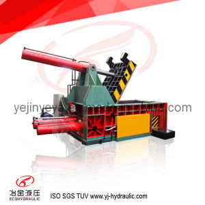 400ton Side Push-out Hydraulic Scrap Metal Baler (25 years factory) pictures & photos