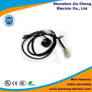 Customized Switch Connector 4 Pins Wiring Harness with Factory Price pictures & photos