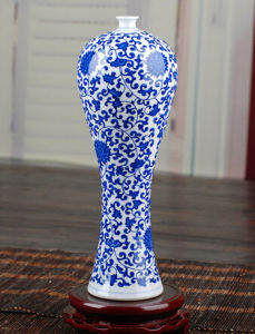 Jingdezhen Ceramics Vase Antique Blue and White Porcelain Decoration Home Decoration