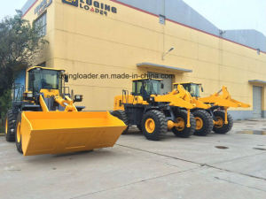 5 Ton Heavy Dozer Road Construction Wheel Loader (ZL50) pictures & photos