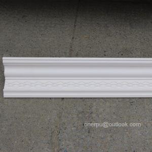 Interior and Exterior Crown Moulding PU Cornice Polyurethane Molding  Hn-80176