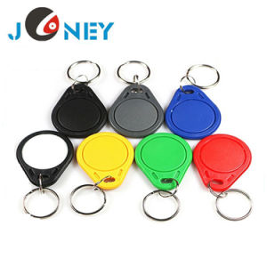 Programmable Washable RFID Key Tag 13.56MHz Door Access Control RFID Keyfob Tag pictures & photos
