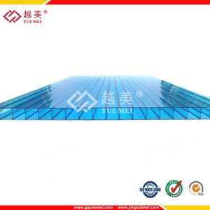 2015 High Quality Clear Twin Wall Hollow Polycarbonate Sheet pictures & photos