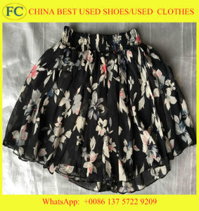 Good Quality Used Clothing for Lady, Man & Child Wear From China (FCD-002)