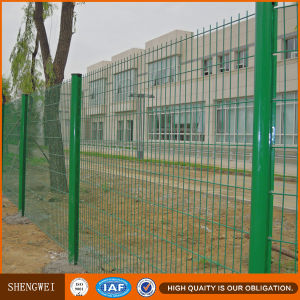 Galvanized Then PVC Coated Wire Mesh Fencing pictures & photos