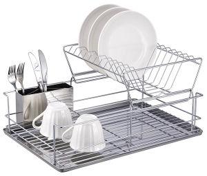 Metal Dish Drying Rack.Houseware Practical Metal Dish Drying Rack