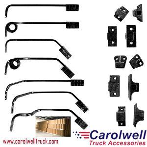 Mudflap Hangers: Bar Type: 0 640 0 750 Straight Angle Down Coils Offset  Bettshd