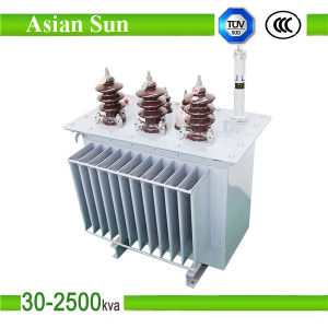 630kVA 1600kVA Three Phase Oil Immersed Transformer Power Transformer pictures & photos