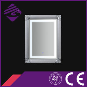 Jnh273-S Rectangle Wall Mounted Art Framed Bathroom Mirror with LED