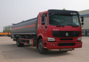 China Supplier 10cbm Fuel Tank Truck pictures & photos