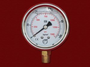 Liquid Pressure Gauges pictures & photos