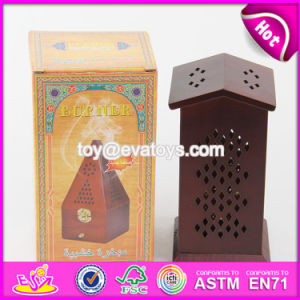 Top Sale Double Sides of The Top Wooden Bakhoor Burner for Sale W02A261 pictures & photos