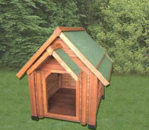 Fashion Pet Products Large Wood Dog House