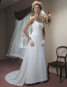 Simple Style Wedding Dress And Wedding Gown(Caseb006)