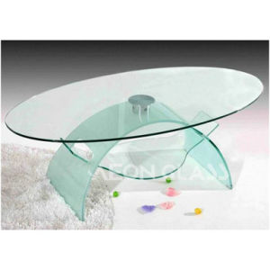 6mm, 8mm, 10mm, 12mm, 15mm, 19mm Tempered Glass Table pictures & photos