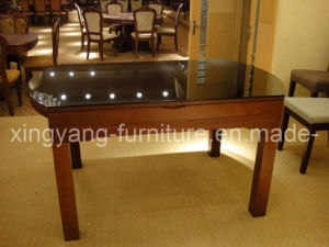 Dining Talbe, Glass Table, Dining Room Furniture (122)