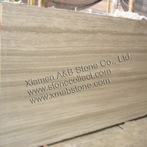 Nice Chinese White Serpeggiante or Light Wooden Veins Marble pictures & photos