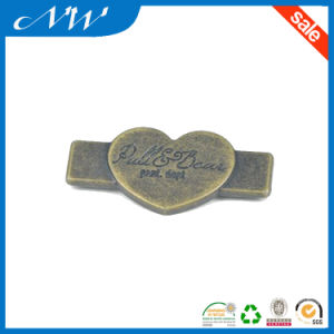 Low Price Metal Buttons Zinc Alloy Label for Shirt