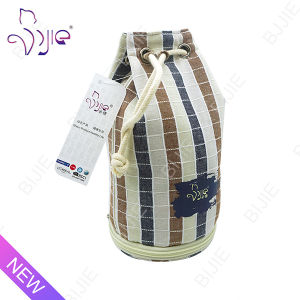 Decorative Cotton Drawstring Storage Bag for Travel