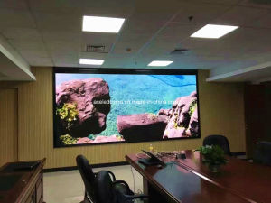 P3 Slim Advertising Indoor Clear LED Video Wall (HD, No Ghost) pictures & photos