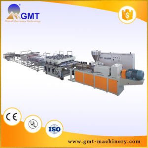 PVC Free Foam Skinning Board Plastic Product Extrusion Making Machine
