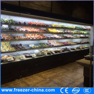 China 375m12ft Open Display Plug In Fruit Fridge For Store China
