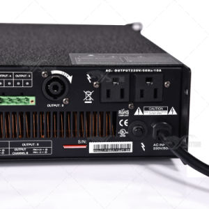 Supply 2X1200W Digital Professional Stage Audio Power Amplifier pictures & photos