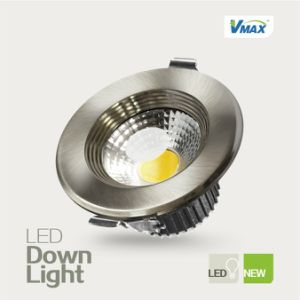 7W LED Ceiling Downlight Recessed High CRI COB Light Source No UV Radiation pictures & photos