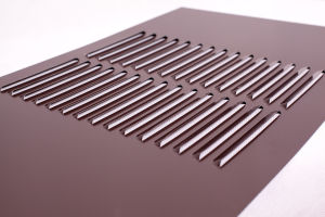 Pre-Painted Air Vent for Louver Ventilation