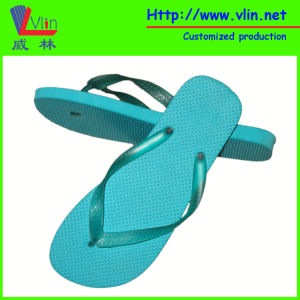 High Quality Rubber/PE Flip Flops with Slope Sole
