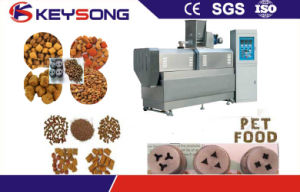 Extruded Dry Pet Dog Fish Feed Food Process Line pictures & photos