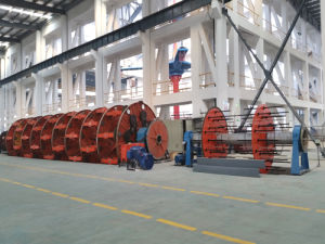 Cll Vertical Laying-up Machine for General Plastic Cable