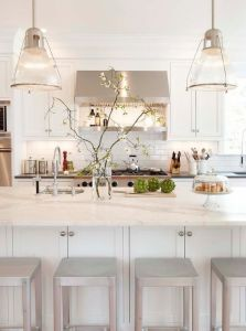 Modern Lacquer Kitcen Cabinets with Kitchen Eccessories