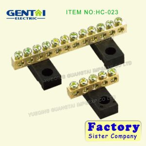 Connector, Screw Mounting Terminal Block for 16 and 25 Ways pictures & photos
