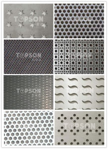 Stainless Steel Plate for Decoration Perforated Finish