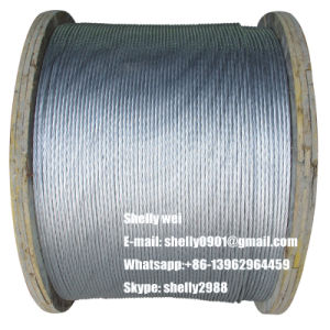 ACSR Messenger Wire (Zinc Coating Galvanized ACSR Steel Strand) for ABC Cable pictures & photos