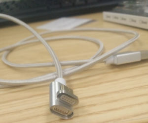 Hot Sell Forth Genaration Magnetic USB Cable for Driving Blind Charging pictures & photos