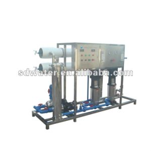 Shine Dew Active Carbon Filter RO System Salt Water Treatment Plant for Sale pictures & photos